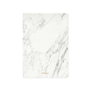 Dear Maison Stone notebook - white marble